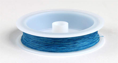 """Berkshire Junction EZ Line HO/N Elastic Polymer Simulated Telephone and Electric Line, Fine .010"""" Diameter x 100' Long, French Blue"""