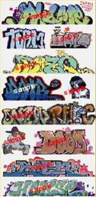 Blair Line N 1259 Graffiti Decals Mega Set #10
