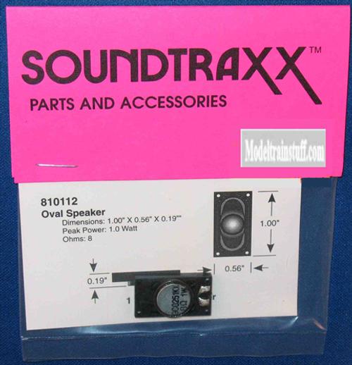 """SoundTraxx 810112 25mm x 14mm (0.984252"""" x 0.551181"""") Oval Speaker"""