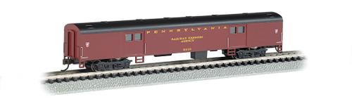 Bachmann N 14451 72' Smoothside Baggage Car, Pennsylvania Railroad #9230