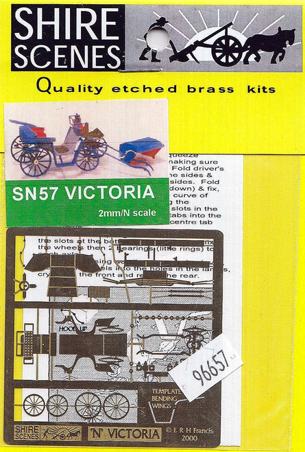 N Scale Architect N 96657 Shire Scenes (SN57) Victoria Kit