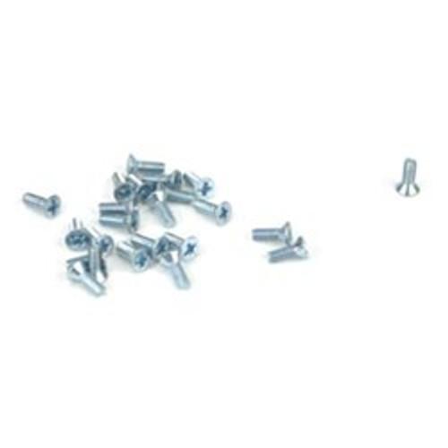 "Athearn HO 99007 Flat Head Screw, 2-56 x 1/4"" (24)"