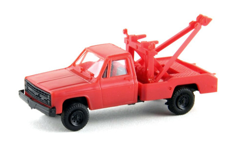 Trident Miniatures HO 900722 Chevrolet Tow Truck with Wrecker Body, Red
