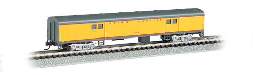 Bachmann N 14454 72' Smoothside Baggage Car, Union Pacific #5714