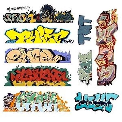 Blair Line HO 2249 Graffiti Decals Mega Set, Set #6 (9)