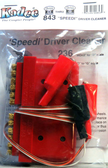 Kadee O/G 843 'Speedi' 2 Rail Wheel Driver Cleaner