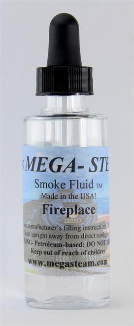 JT's Mega Steam O/HO FIREPLACE Smoke Fluid 2 Oz. Bottle, Fireplace