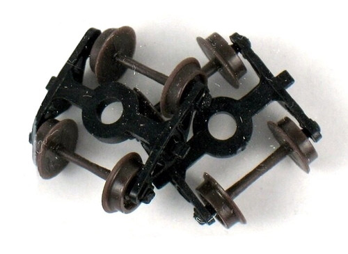Atlas N 22060 Caboose Roller-Bearing Trucks without Couplers (1 Pair)