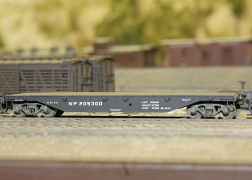 Central Valley Model Works HO 1003 41' Northern Pacific Flat Car Kit (2)