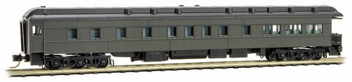 Micro-Trains N 14400001 3-2 Heavyweight Observation Car, Undecorated