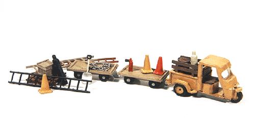 JL Innovative Design HO 925 Deluxe Cushman Truckster Kit and Carts Detail Set