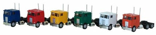 Herpa HO 025246 3-Axle Peterbilt Cabover (1-Tractor, Colors May Vary)