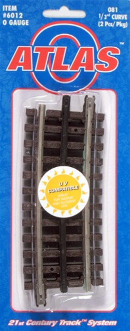 Atlas O 6012 O-81 One Third Curve Track (2)