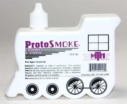 MTH O 60-1045 Unscented Proto Smoke 7 Ounce Fluid