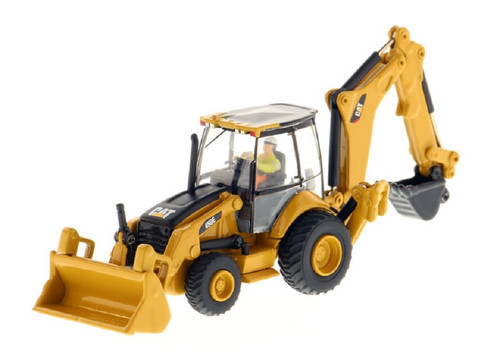 Diecast Masters HO 85263 CAT 450E Backhoe Loader, High Line Series