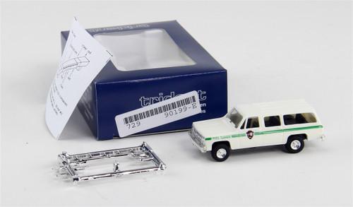 Trident Miniatures HO 90199 Chevrolet Suburban, Park Ranger