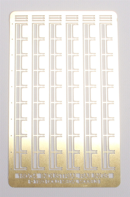 Gold Medal Models N 160-34 Industrial Rail Series (336 Scale Feet of Industrial Safety Railings)