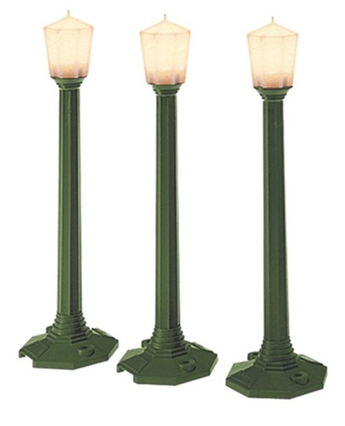 Lionel O 6-29247 Green Classic Street 3-Lamp Set