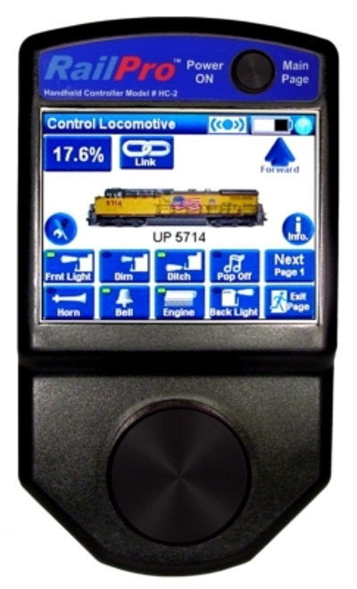Ring Engineering HC-2 RailPro Wireless Controller with Touchscreen