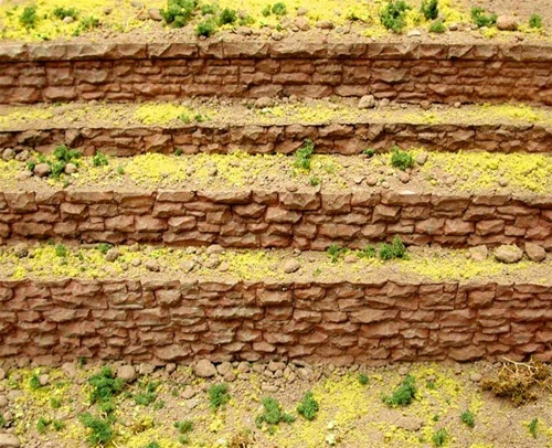 Chooch HO/O 8303 Medium Random Stone Row Wall