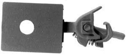 "Kadee HO #26 Long (25/64"") Centerset Shank with Draft Gear Boxes (2 Pair)"