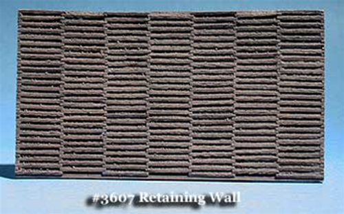 Fine N Scale 3607 Sloped Tie-Cribbed Retaining Wall (2)