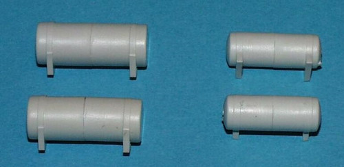 A-Line HO 50107 Fuel Tank Set, Long (Undecorated)