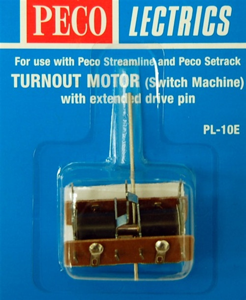 Peco HO/N PL10E Turnout Motor with Extended Drive Pin