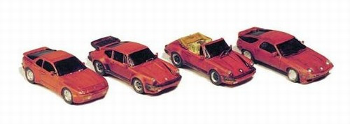 GHQ N 51015 Sports Car Variety Pack