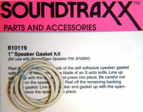 """SoundTraxx 810119 28mm (1.10236"""") Speaker Gasket Kit (4-Pack)"""