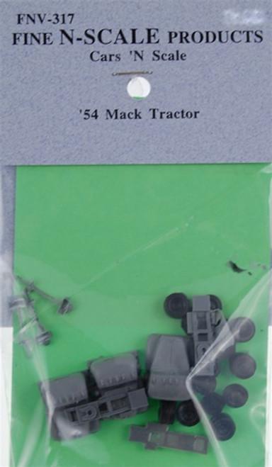 Fine N Scale 317 '54 Mack Semi Tractor Kits (3)