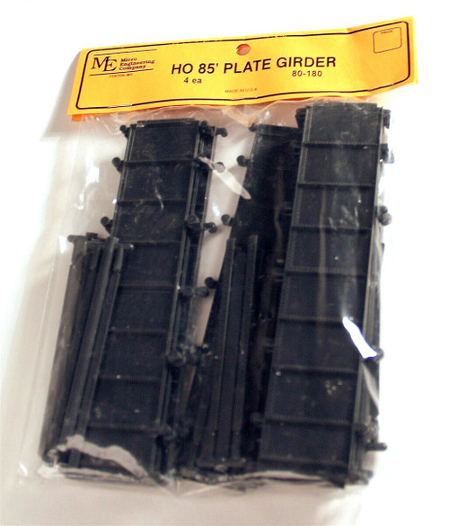 Micro Engineering HO 80-180 85' Plate Girder Bridge Kit (4 Bridges Per Bag)