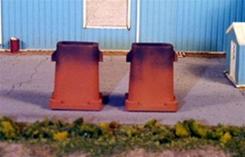 Rix Products HO 628-0602 Steel Ingot Molds (2)