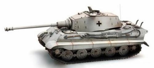 Artitec HO 387.17-WY German Army Tiger II Henschel, Yellow Winter Camouflage