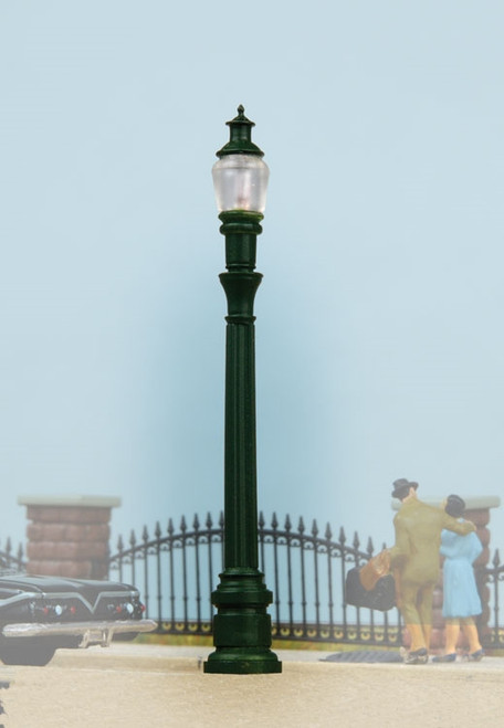 Walthers SceneMaster HO 949-4304 Street Light, Cast Iron Column (Pack of 2)