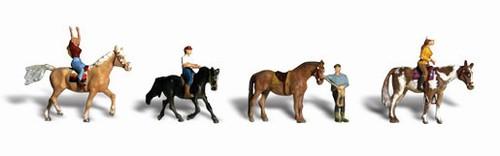 Woodland Scenics HO A1889 Horseback Riders