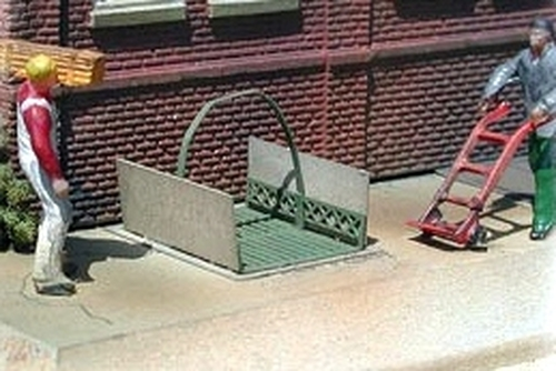 Bar Mills Scale Model Works O 0499 Sidewalk Elevator Kit