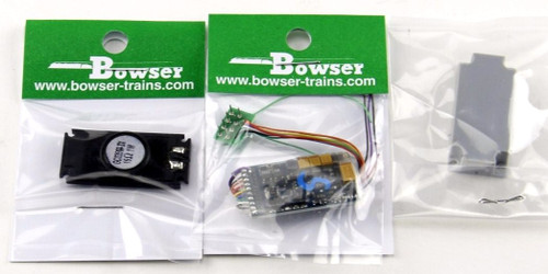Bowser HO 1225 Retro-Fit LokSound and DCC Chassis Kit, C630/C630M Retro-Fit Sound with 8-Pin Socket Locos