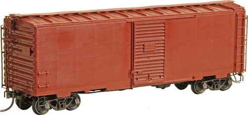 Kadee HO 4101 40' PS-1 Box Car with 7' Youngstown Door and Roof Walk Kit, Undecorated