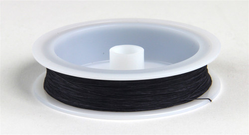 """Berkshire Junction EZ Line O/S Elastic Polymer Simulated Telephone and Electric Line, Heavy .020"""" Diameter x 100' Long, Black"""