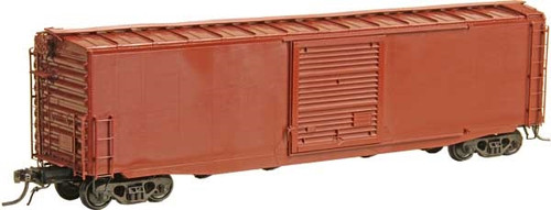 Kadee HO 4115 50' PS-1 Hydrocushion Box Car with 10' Youngstown Door and Roof Walk Kit, Undecorated
