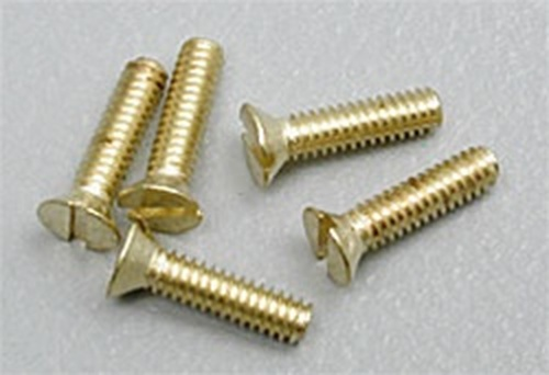 "Hob-Bits H850 Flat Head Screws Size: 1-72 Length: 1/4"" (5-Pack)"