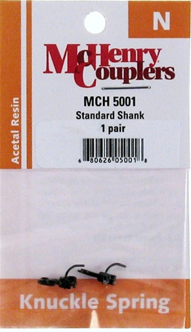 McHenry Couplers N 5001 Standard Shank Coupler (1 Pairs)