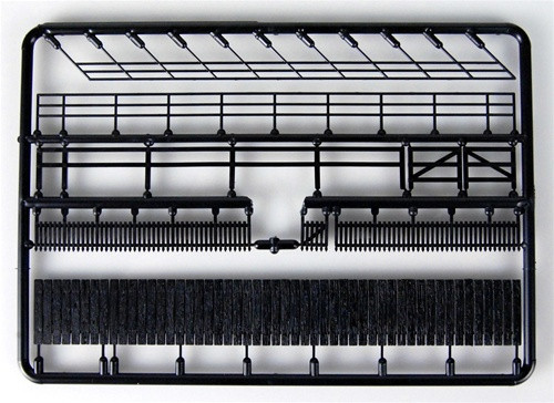Central Valley Model Works HO 1601 Fences and Railings Set