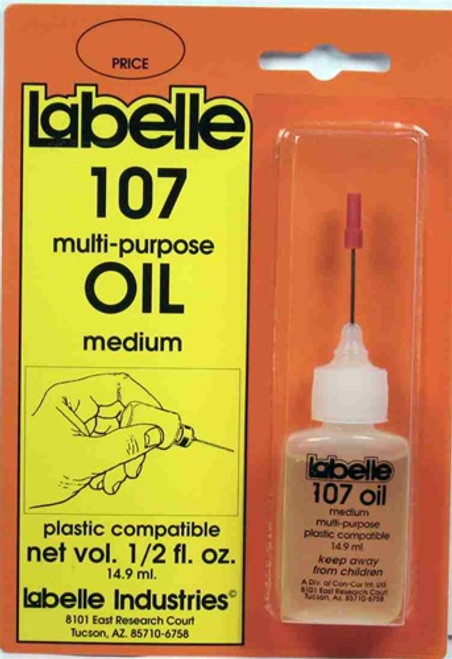 Labelle 107 1/2 fl. oz. Plastic Compatible Oil, Medium