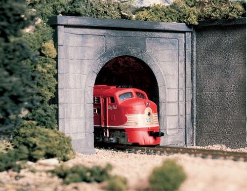 Woodland Scenics HO C1252 Concrete Single Track Tunnel Portal