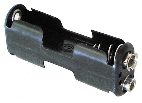 A.E. Corporation BH-321 Battery Holder with Snaps for 2 AA Cells