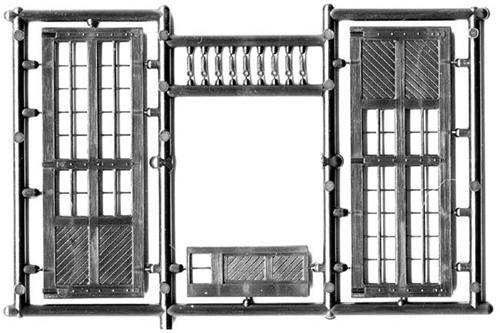 Central Valley Model Works HO 1605 Large Shop Doors