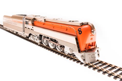 Broadway Limited Imports HO 4550 L-1 4-6-4 Hudson Locomotive, Chesapeake and Ohio #490