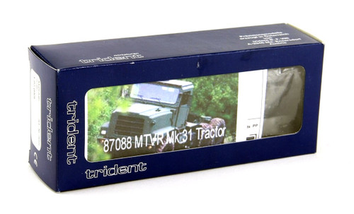 Trident Miniatures HO 87088 Medium Tactical Vehicle Replacement (MTVR) MK36 Semi-Tractor, US Marine Corp